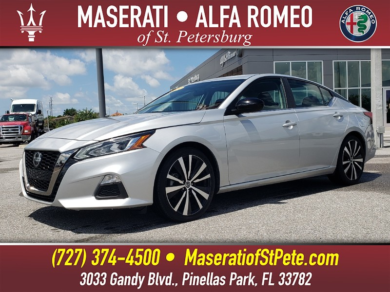 Pre-Owned 2019 NISSAN ALTIMA 2.5 SR SEDAN